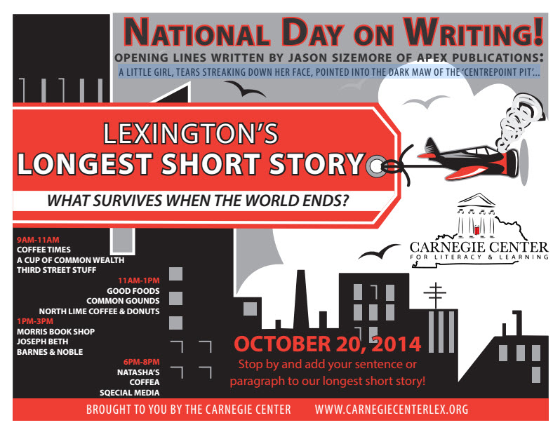 National Day On Writing A Writer S Vanity