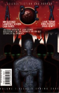 The first step of the journey! Issue #1 of Apex Science Fiction and Horror Digest.